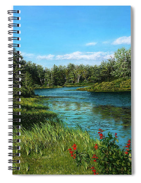River View - Spiral Notebook