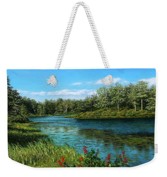 River View - Weekender Tote Bag