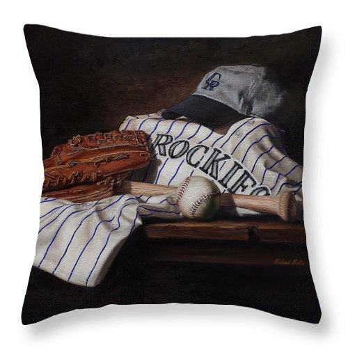 The Colorado Rockies - Throw Pillow