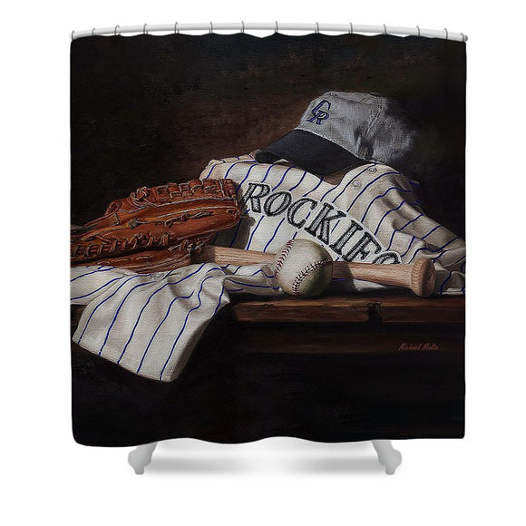 The Colorado Rockies - Shower Curtain