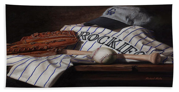 The Colorado Rockies - Bath Towel