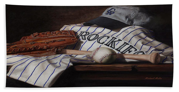 The Colorado Rockies - Beach Towel