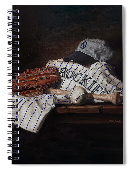 The Colorado Rockies - Spiral Notebook