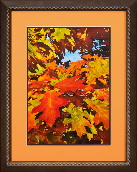 Burst of Autumn - Original