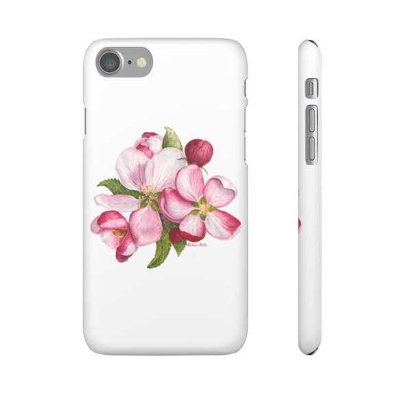 Apple Blossoms - Snap iPhone Cases