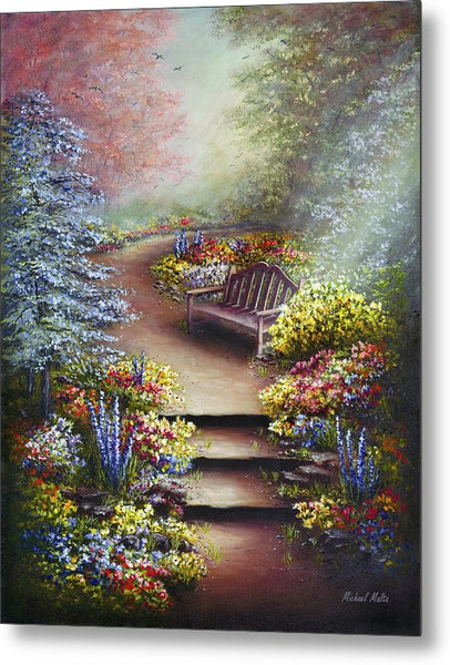 Colours Of Serenity - Metal Print