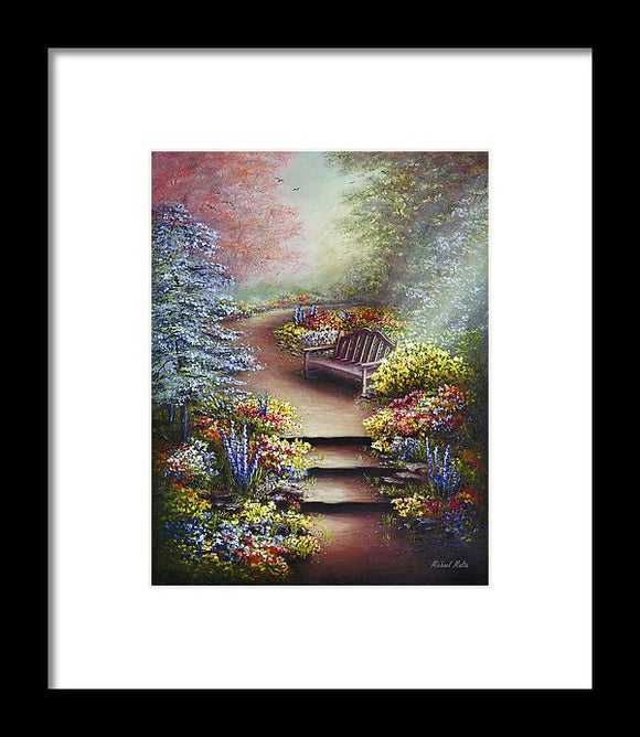 Colours Of Serenity - Framed Print