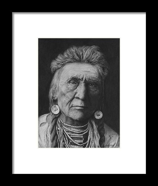 Crow Warrior - Framed Print