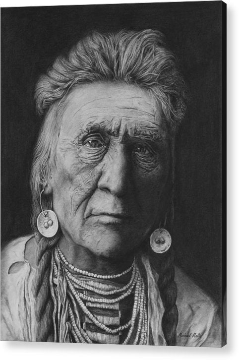 Crow Warrior - Acrylic Print