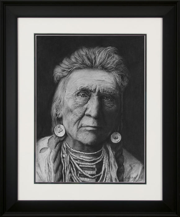 Crow Warrior - Studio Framed Print