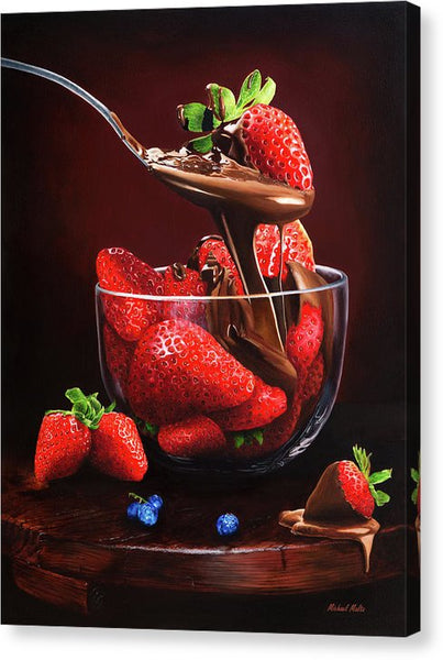 Indulge - Canvas Print