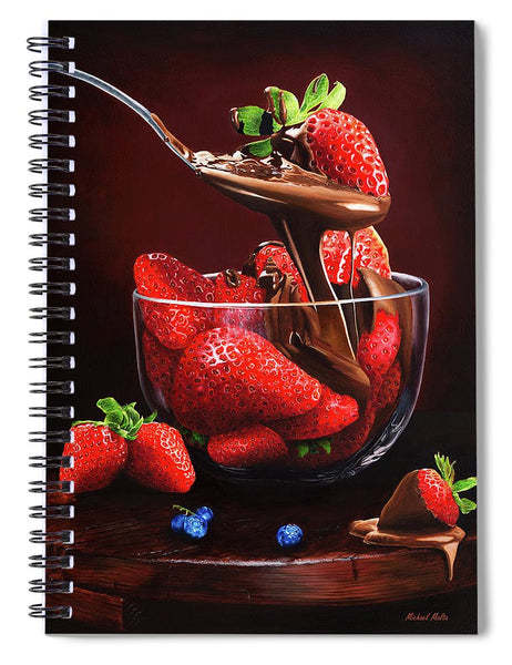 Indulge - Spiral Notebook