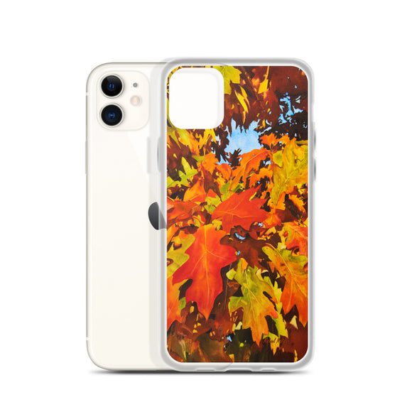 Burst Of Autumn - Flexible iPhone Case