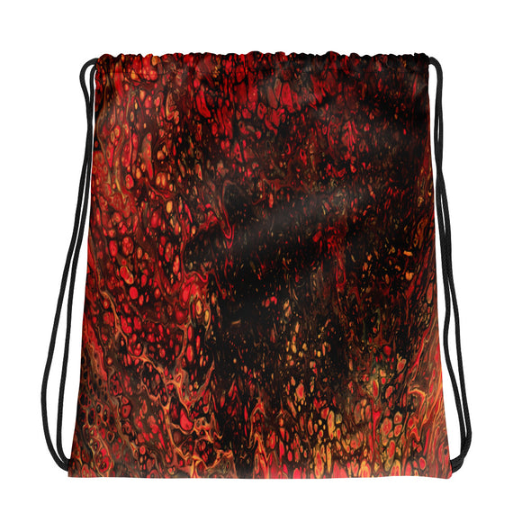 A Moment in Time Drawstring bag