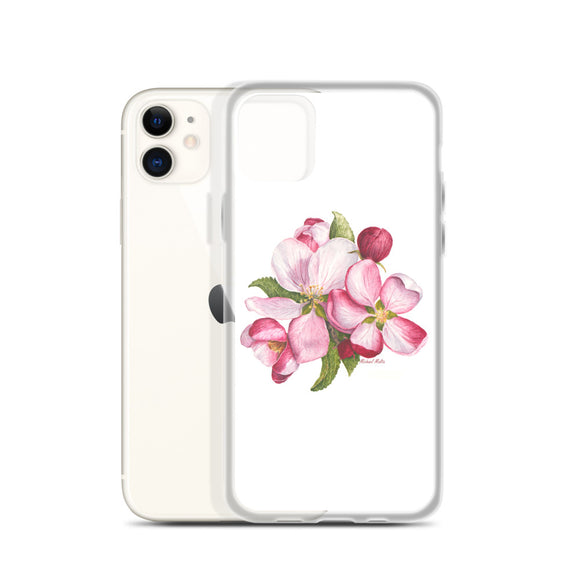 Apple Blossoms - Flexible iPhone Case