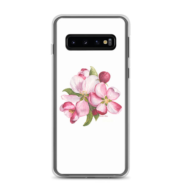 Apple Blossoms - Flexible Samsung Case