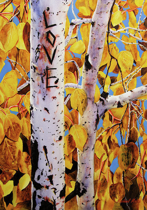 Quaking Aspens - Art Print