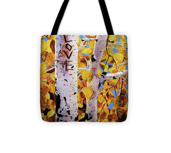 Quaking Aspens - Tote Bag