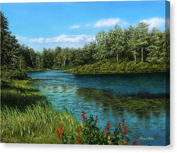 River View - Canvas Print