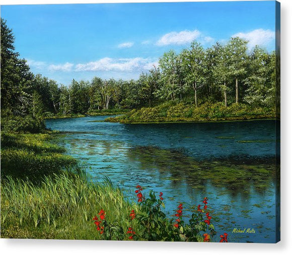 River View - Acrylic Print