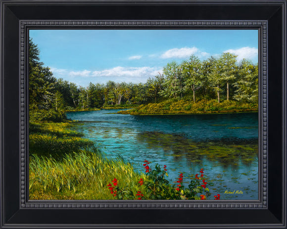 River View - Studio Canvas Print
