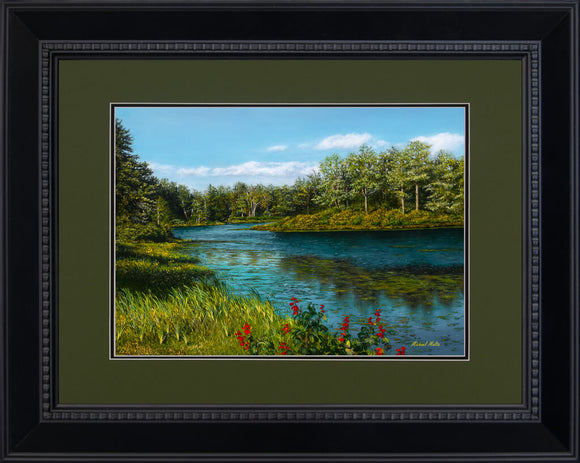 River View - Studio Framed Print
