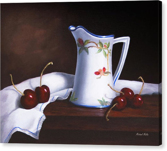 Simply Cherries - Canvas Print