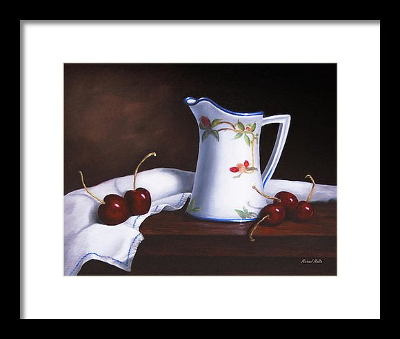 Simply Cherries - Framed Print