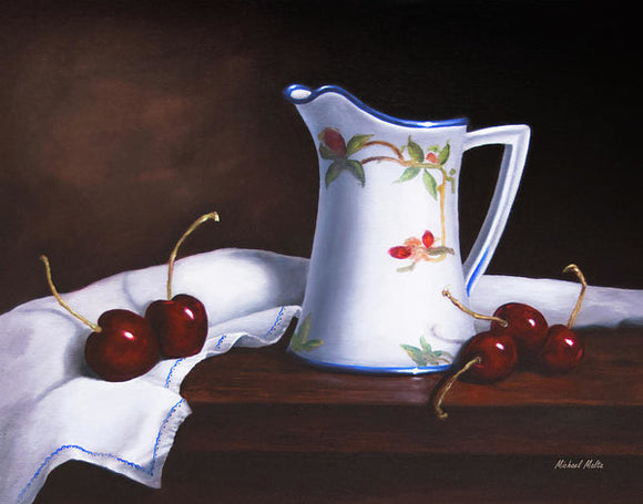 Simply Cherries - Art Print