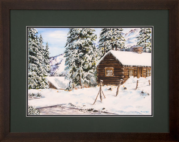 Snowy Retreat - Original