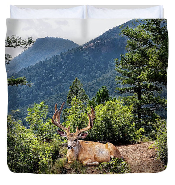 Taking A Break - Duvet Cover