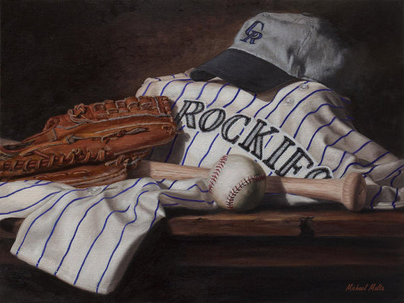 The Colorado Rockies - Art Print