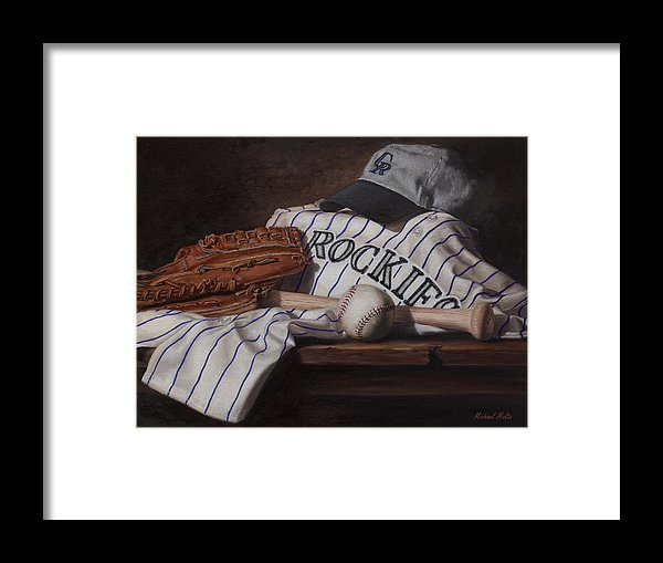The Colorado Rockies - Framed Print