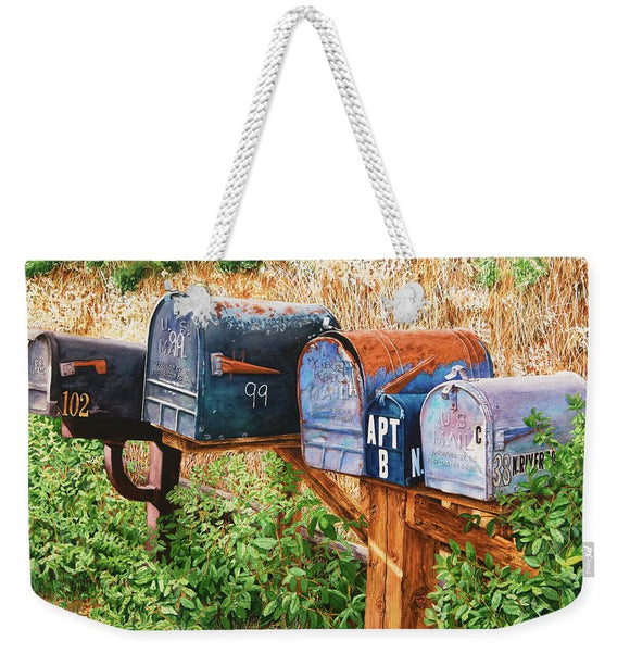 You Got Mail - Weekender Tote Bag