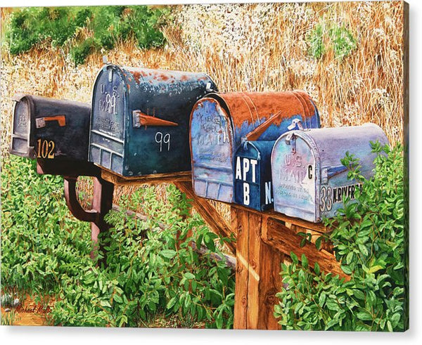 You Got Mail - Acrylic Print