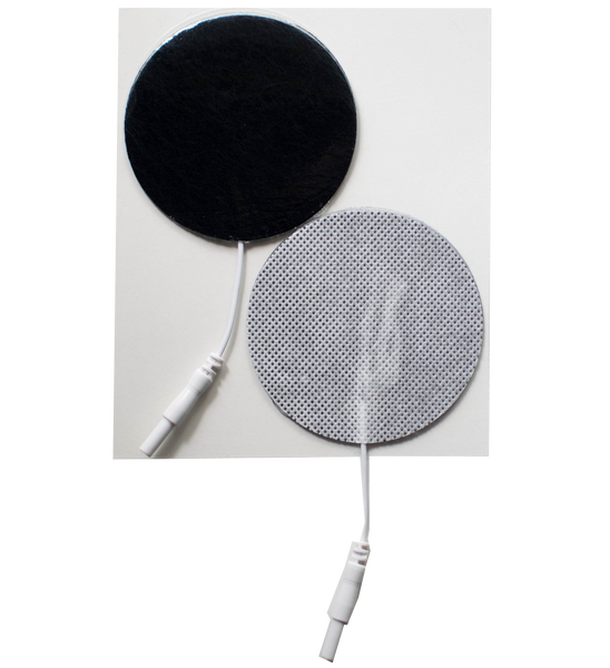 "2.75"" Round Fabric Electrodes - (4/pk)"