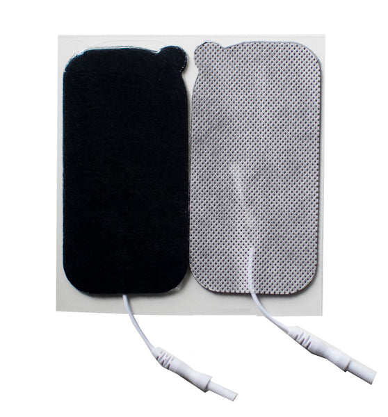 "2"" x 4"" Rectangle Fabric Electrodes - (4/pk)"