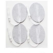 "1.5"" x 2.5"" Oval Fabric Electrodes -(4/pk)"