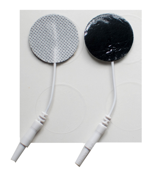 "1.25"" Round Fabric Electrodes - (4/pk)"