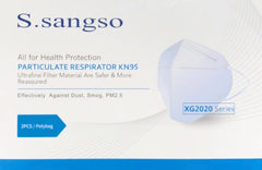 KN95 Respiratory Masks - Certified KN95 Fit Tested Face Masks (50 Masks Per Box)