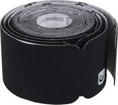 StrengthTape 5M Precut Roll, Black