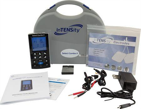 InTENSity™ Select Combo II Rechargeable TENS, EMS, IF, & Russian Stim 4-in-1 Combo Unit