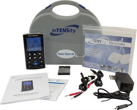 InTENSity™ Twin Stim® IV - Rechargeable TENS & EMS Combo Unit