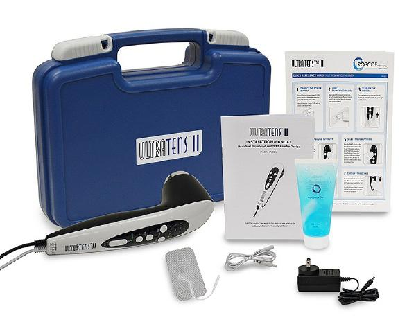 UltraTENS™ II - Ultrasound and TENS Combo Therapy Device Kit