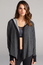 Load image into Gallery viewer, CHICHI Jojo Crop Hooded Jacket (Charcoal)