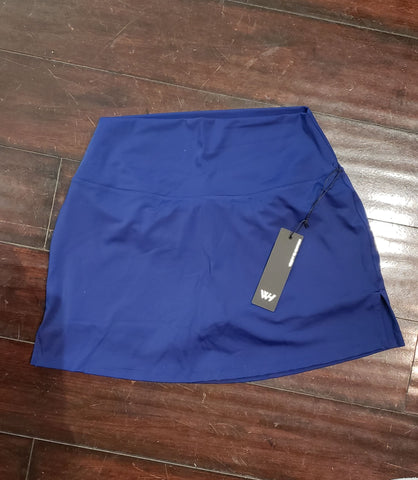 WITH High Waist Skort [3 Solids]