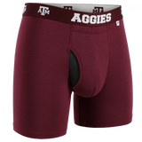 2UNDR COLLEGE Swing Shift-6in Boxer Brief (Multiple Teams)