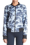 With Reversible Bomber Jacket (Itajime White/Indigo Camo)