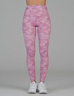 GLYDER High Power Legging (Pink Camo)