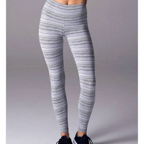 GLYDER High Power Multi Stripe Leggings